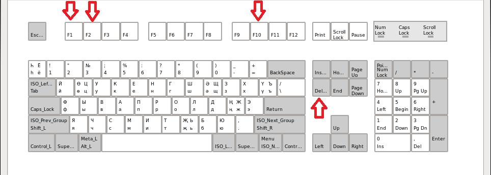 Как войти в BIOS и выбрать загрузку с флешки   Будни