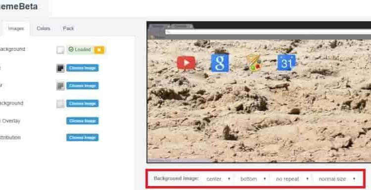 Как сделать свою тему на гугл