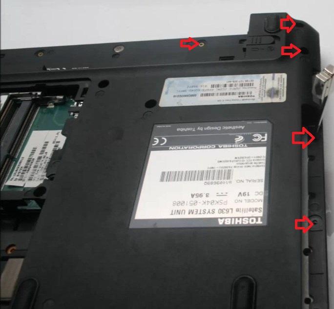 Toshiba Satellite L63015